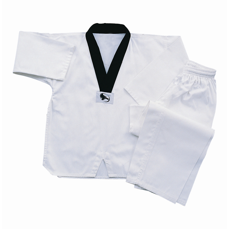 7 OZ RIBBED TEA KWON DO SETS