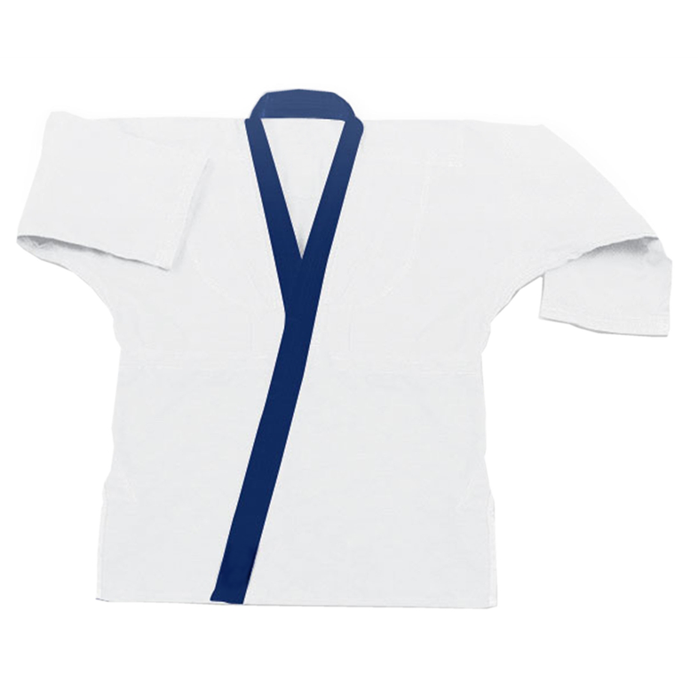 8.5 Oz SUPER MIDDLEWEIGHT TRADITIONAL TOP W/COLLAR TRIM